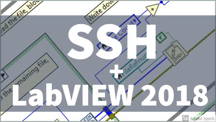 SSH + LabVIEW 2018